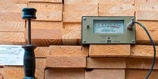 Control de calidad en moldes de madera